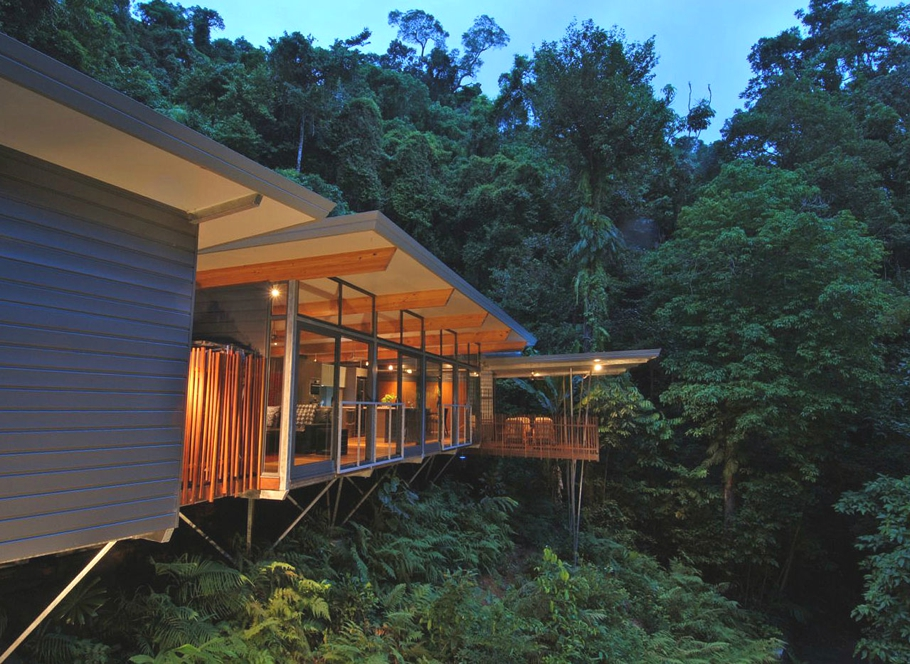 Contemporary hp tree house australia adelto adelto for Home designs cairns