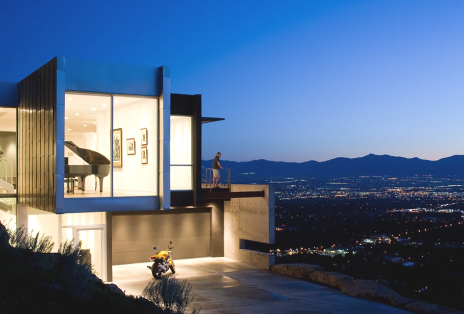 Utah Home Design Architects Contemporary H House Salt Lake City 171 Adelto Adelto