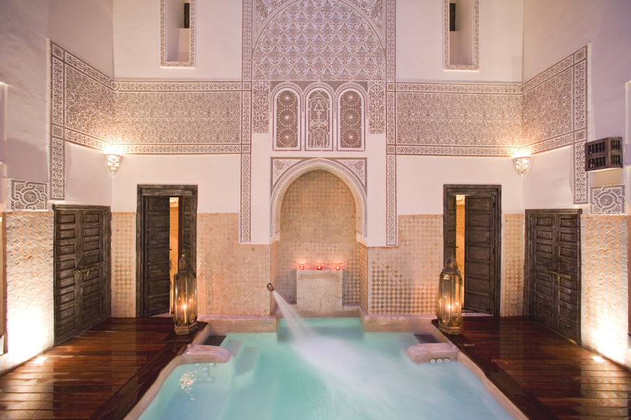 Spa review luxury hammam at angsana spa bab firdaus for Bab hotel marrakech piscine