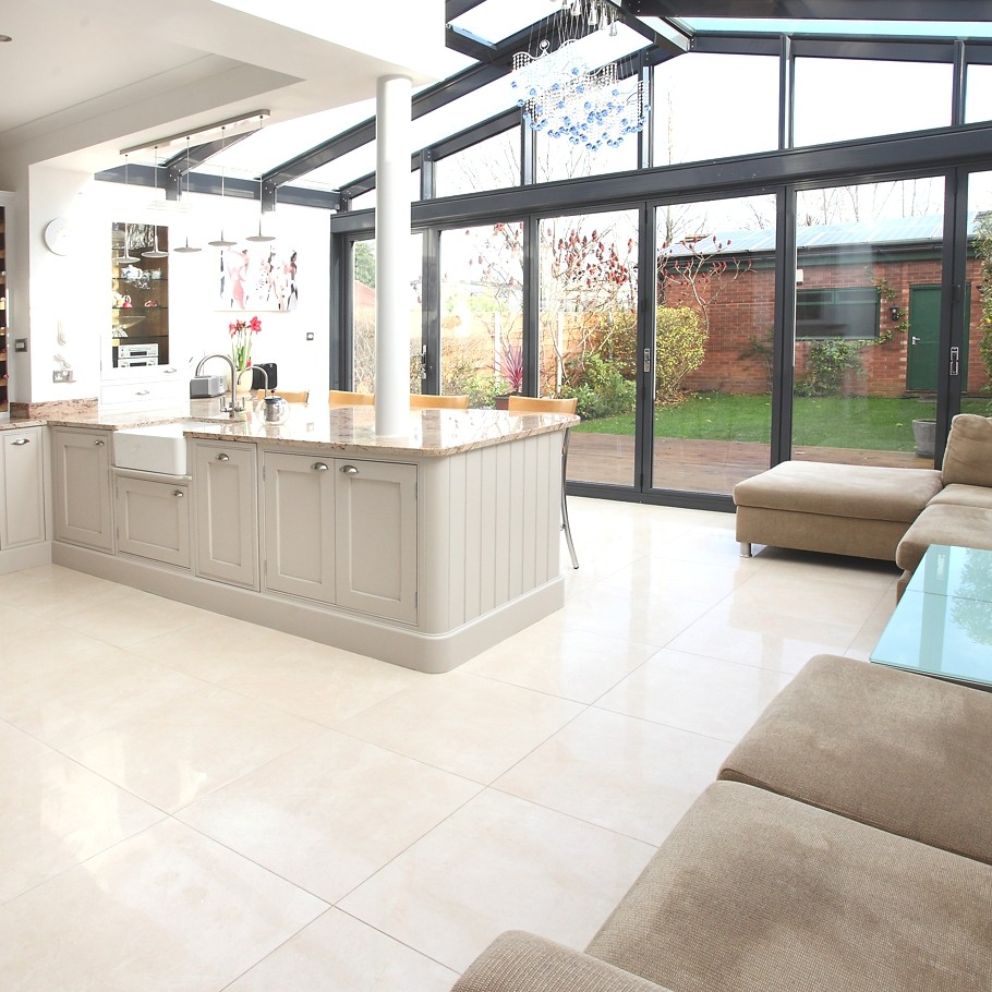 Contemporary Conservatory Ideas: Open Plan Extension For
