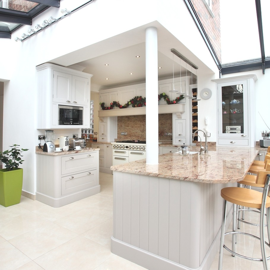 Contemporary Conservatory Ideas Open Plan Extension For