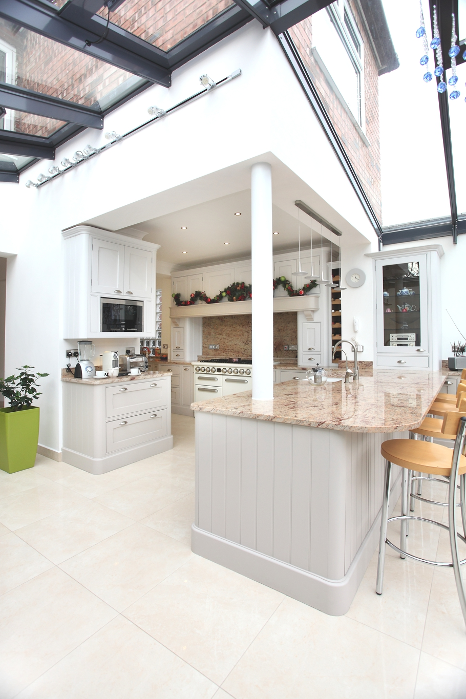 Contemporary conservatory ideas open plan extension for for Kitchen extension ideas uk