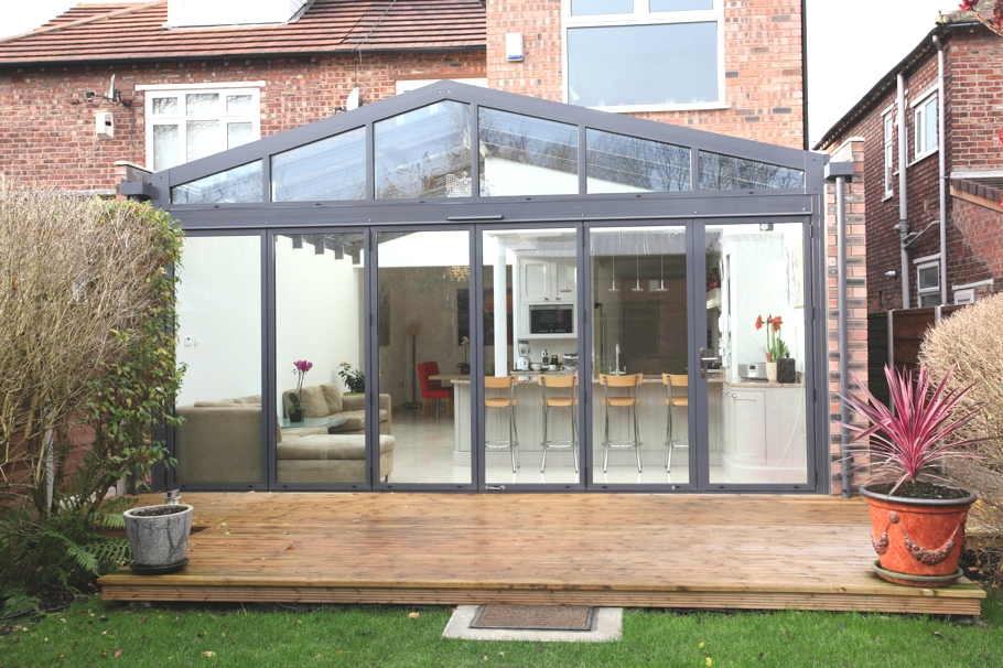 Contemporary Conservatory Ideas Open Plan Extension For The Home Manchester England Adelto