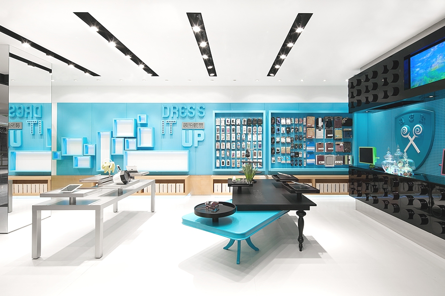 Visually stunning store concept in shenzhen china adelto adelto - Industrial style mobel ...