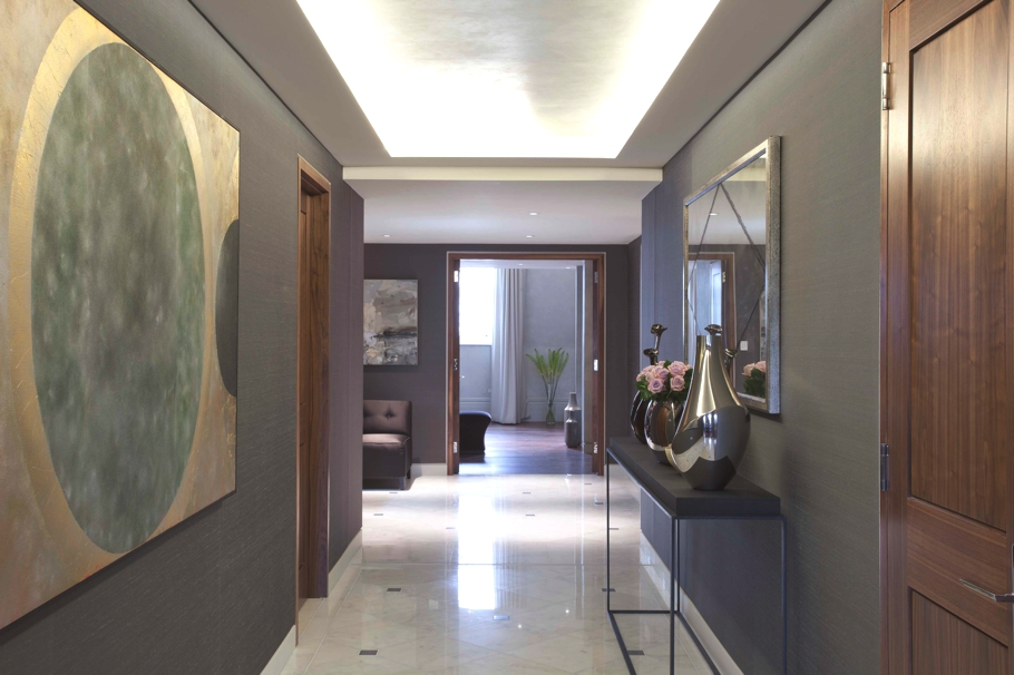 Luxury lancasters hyde park apartment london adelto adelto for Apartment entrance decoration