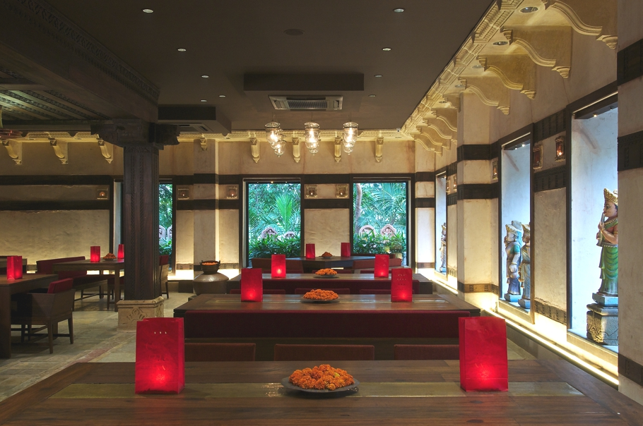 High definition contemporary restaurant design india