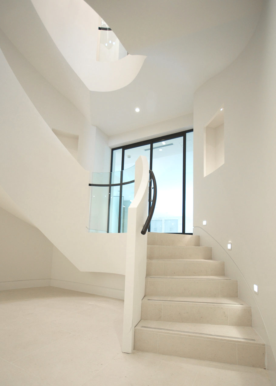 contemporary staircase design ideas 07