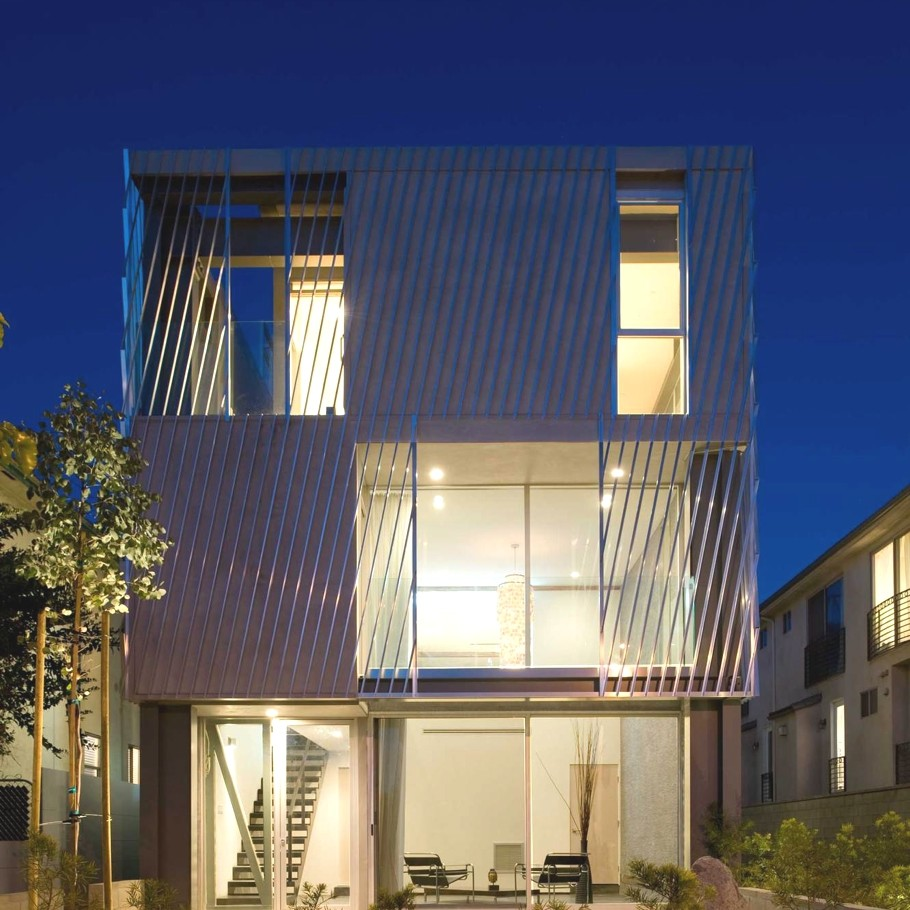 Luxury Homes In Los Angeles: Eco-chic The Green Houses, Los Angeles « Adelto Adelto