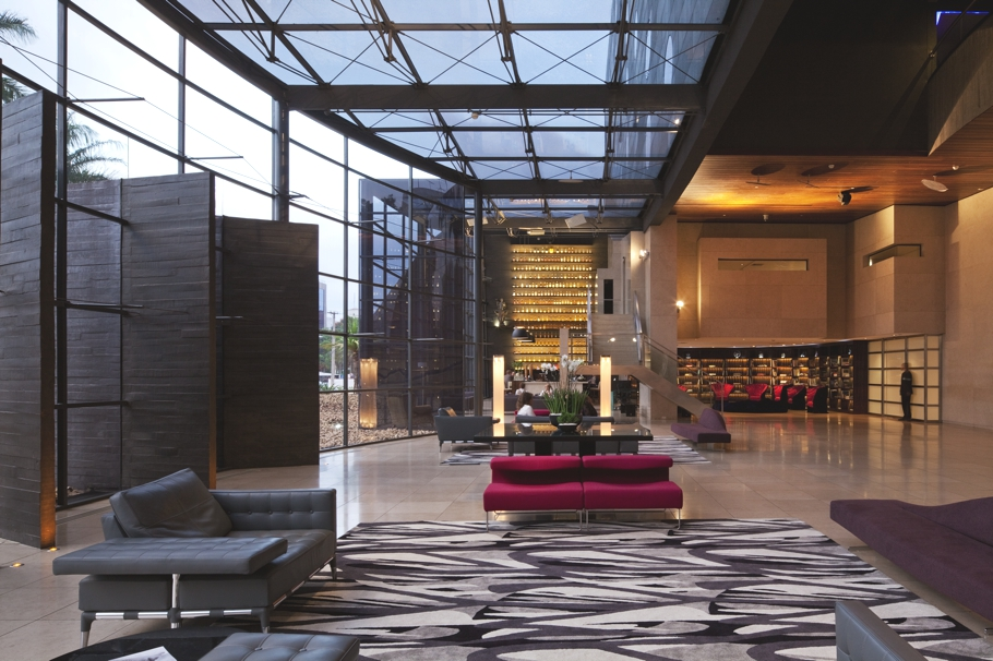 Uber trendy hotel unique with spectacular views across s o for Luxury hotel company