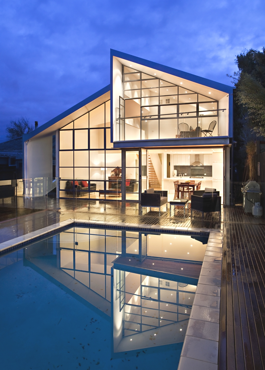 The blurred house project melbourne adelto adelto for Home architecture melbourne