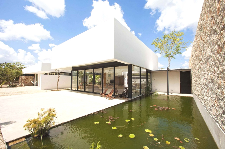 Luxury Gershenson House Yucatan Mexico Adelto Adelto: home architecture in mexico