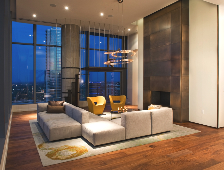 Office Furniture: Luxury W Penthouse, Austin, Texas, US « Adelto Adelto