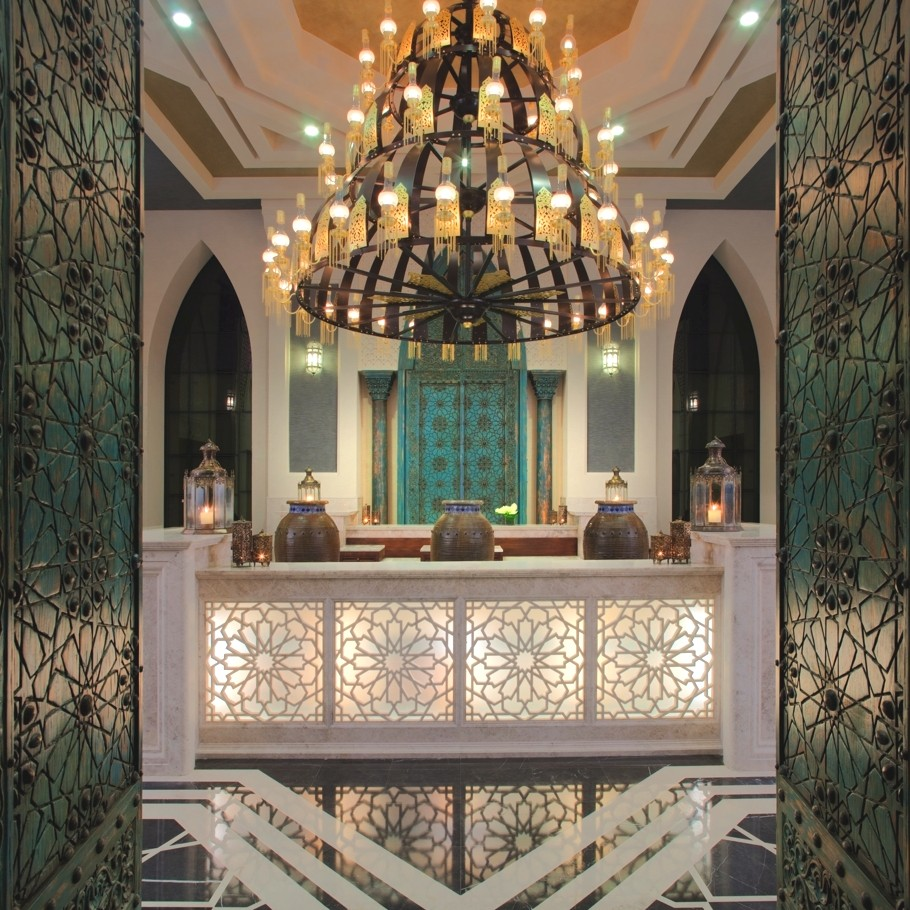 The luxurious talise ottoman spa in dubai adds romance to for Modern luxury hotels uk