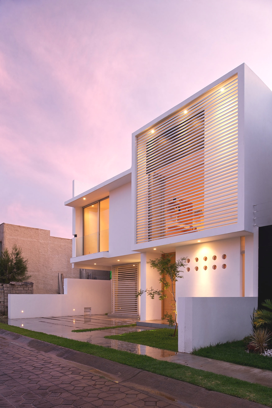 Contemporary architectural design at seth navarrette house mexico adelto adelto Home architecture in mexico