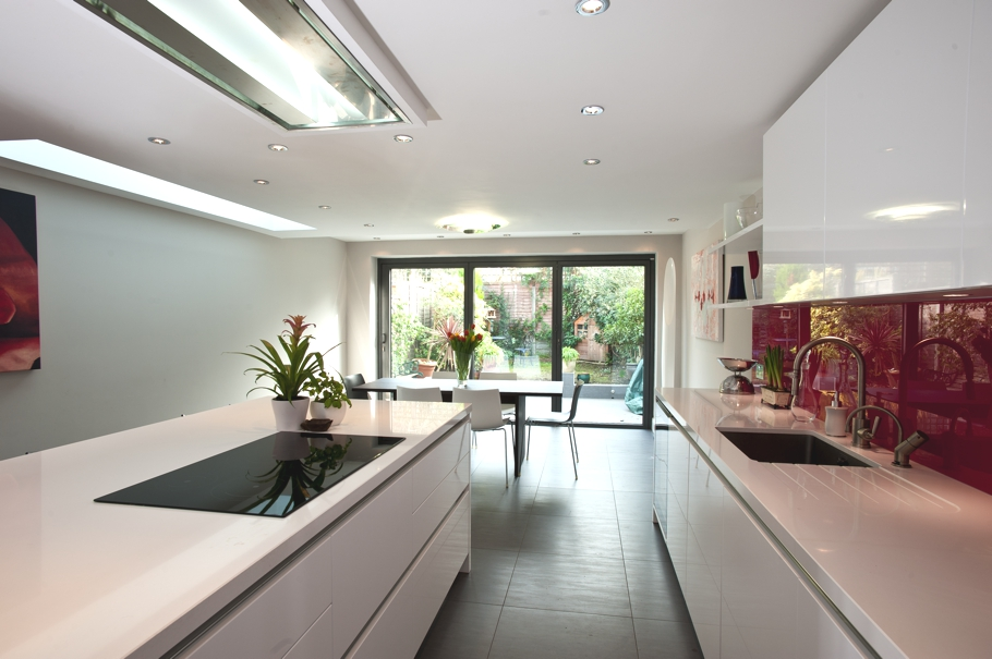 Stylish Kitchen Design In A Modern London Home Adelto. Modern Kitchen  Designs Uk. ...