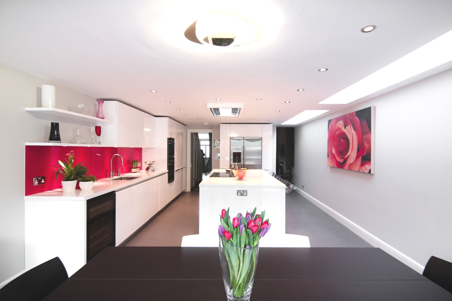 Contemporary kitchen design ideas london 09 adelto adelto for Modern kitchen london