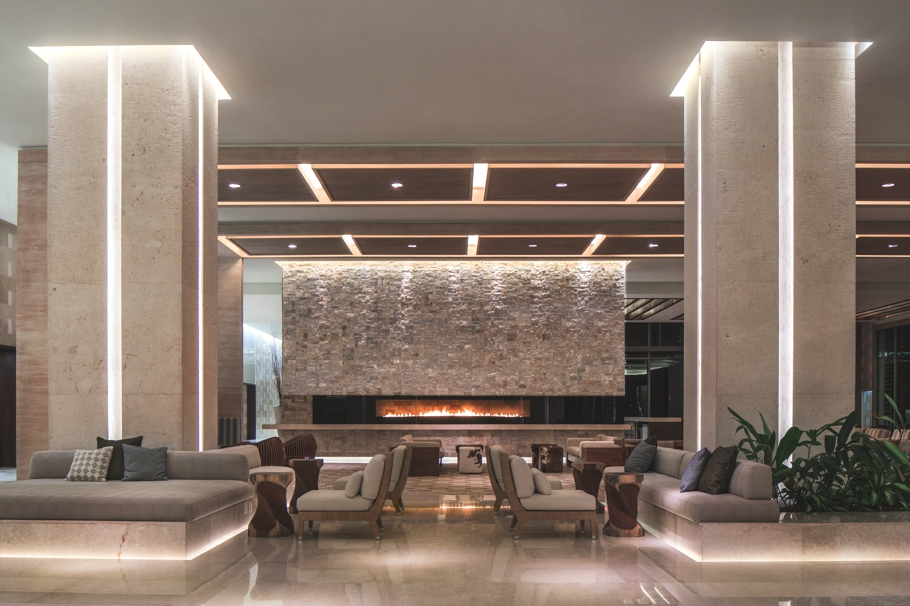 Intimate luxurious and sleek interior design at the for Design hotel england