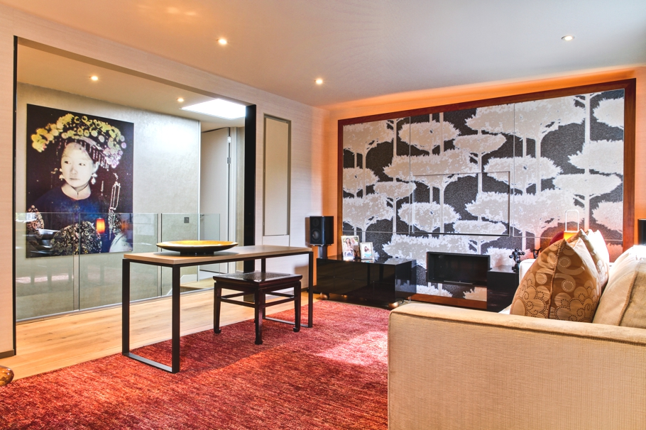 Student digs refashioned as stylish pied terre adelto for Interior designers based in london