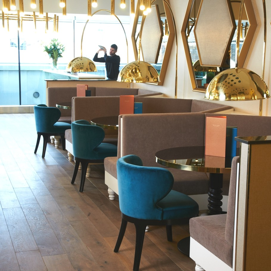 luxury fourth floor caf and bar in harvey nichols leeds adelto adelto