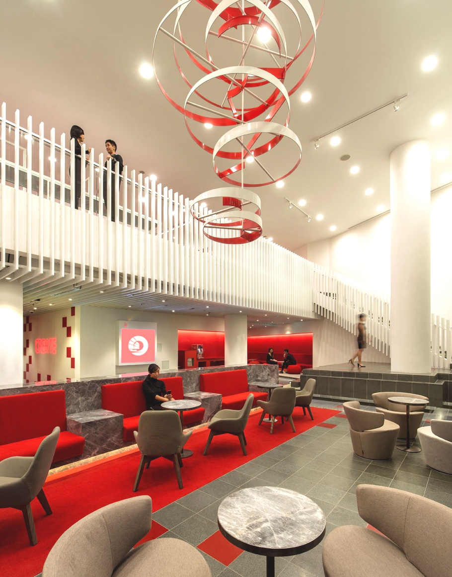 Contemporary design - OCBC Bank, Singapore « Adelto Adelto