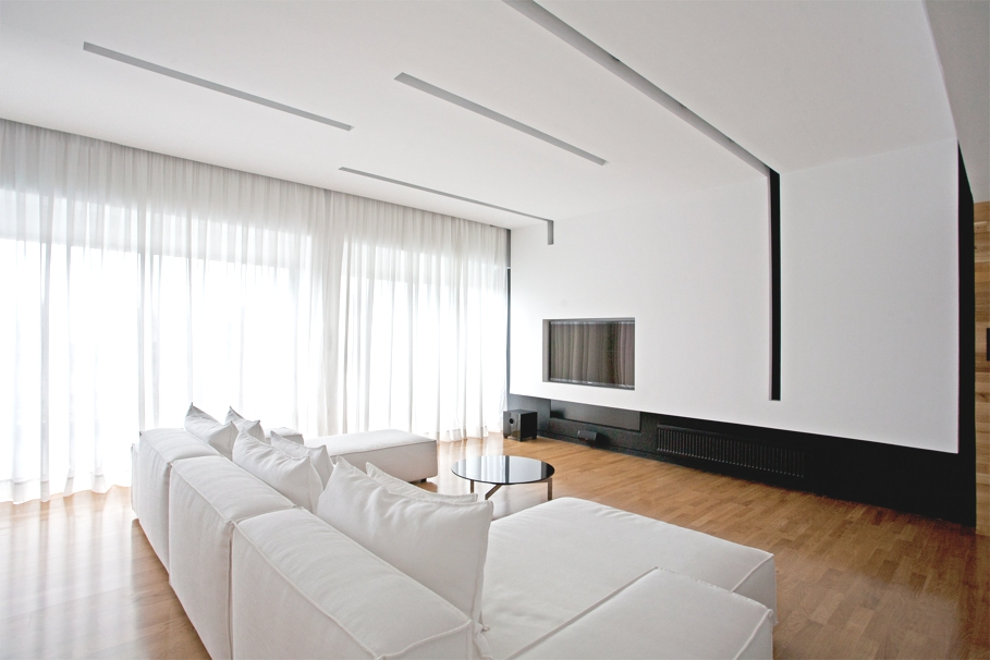 Minimalist interior design apartment athens 03 adelto adelto for Minimalist style interior design