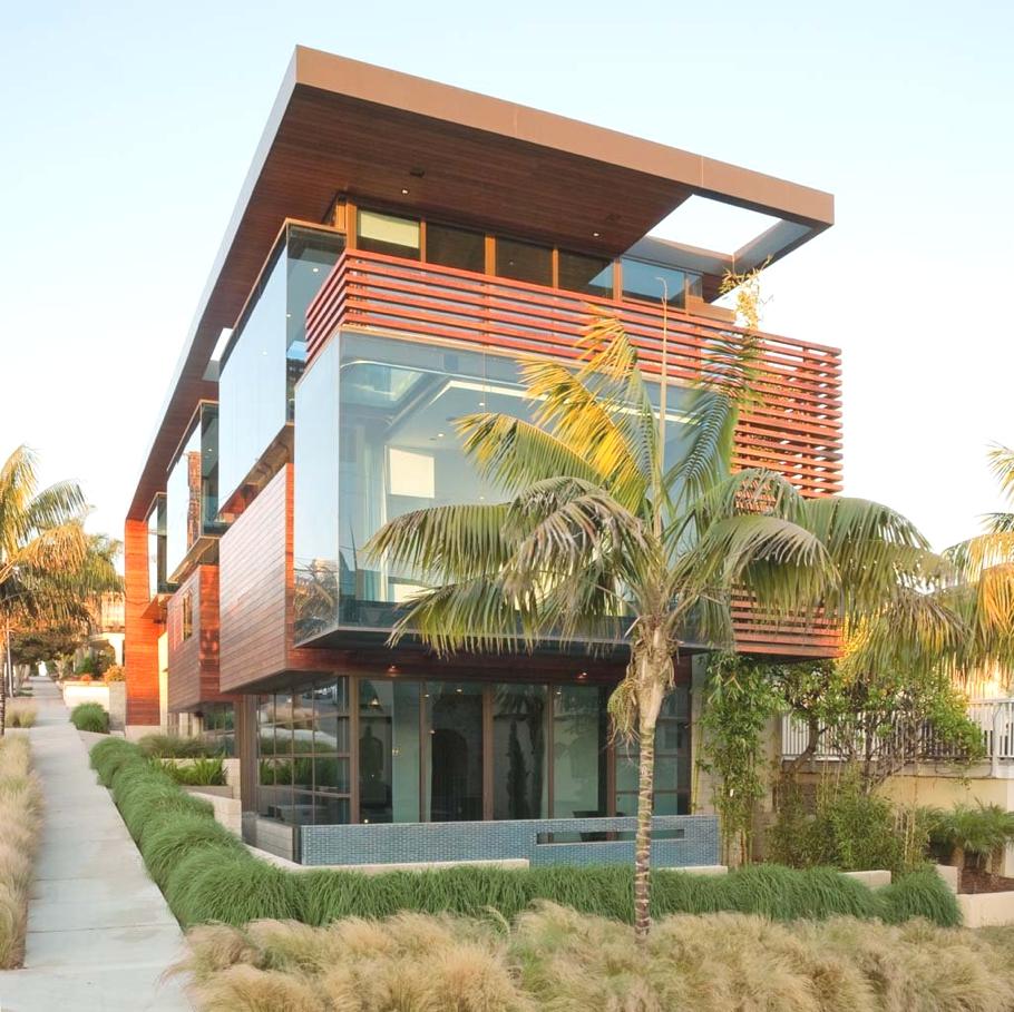 Exotic Homes Los Angeles: Contemporary Los Angeles Property