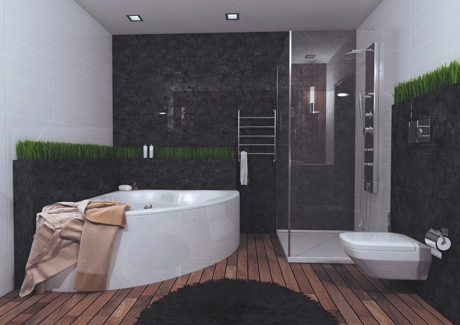Eco friendly interior design at this belarus apartment for Sustainable interior design products