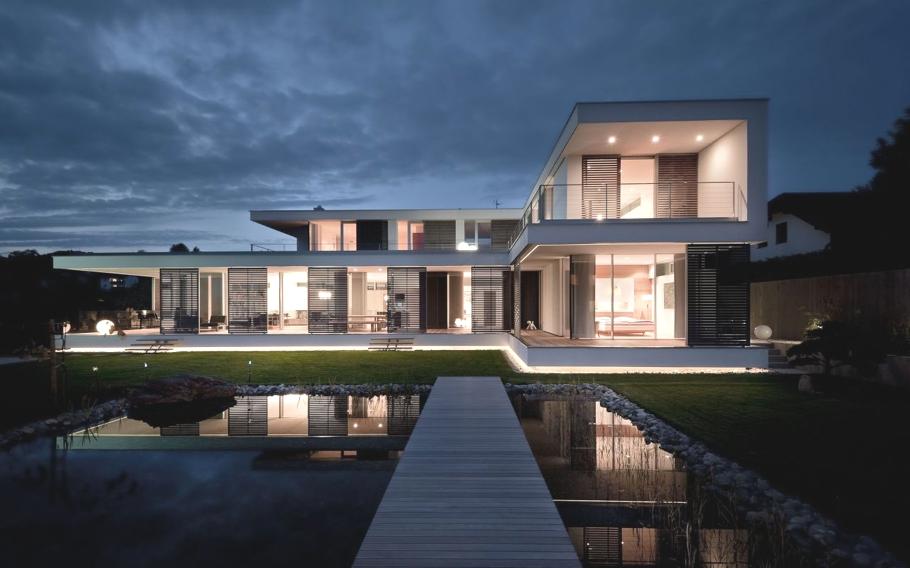 Luxury Interiors Modern Architecturual Design At Haus SK