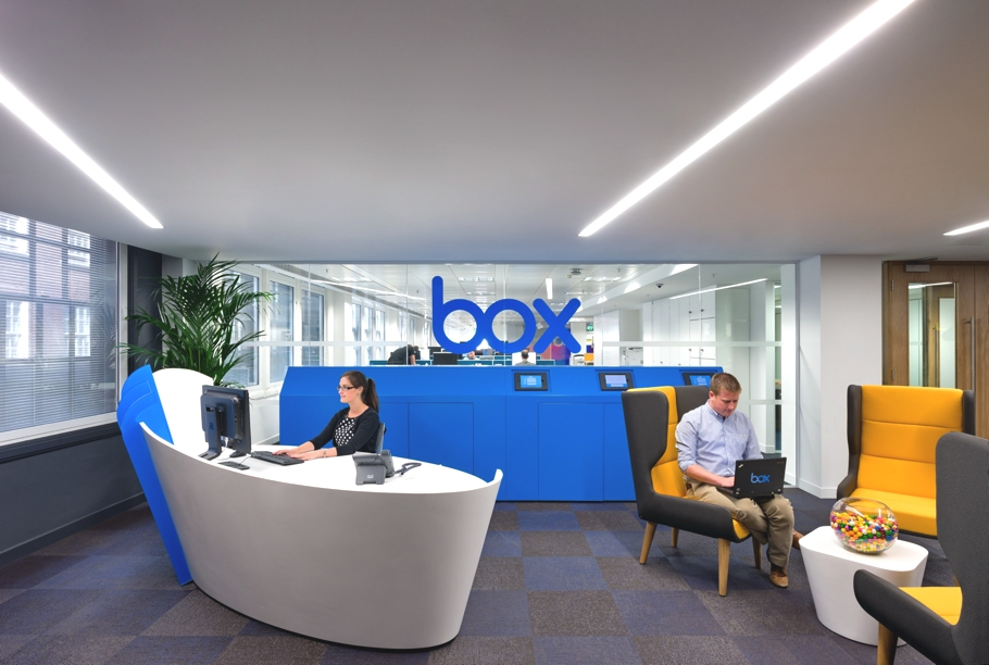 Awesome office design for Boxs EMEA headquarters Adelto Adelto