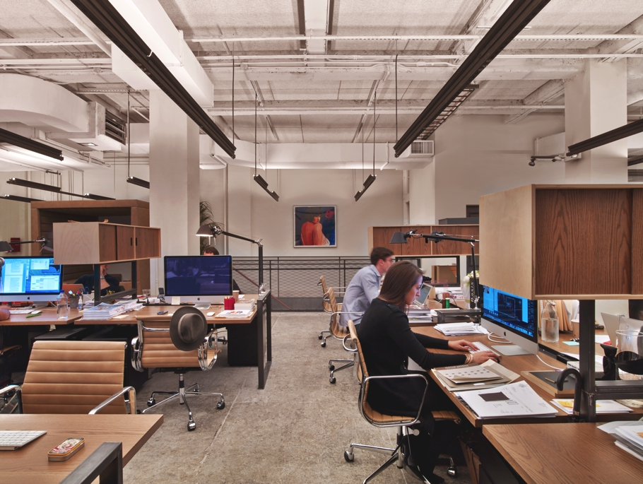 Contemporary office design new york city adelto 11 for Office design new york