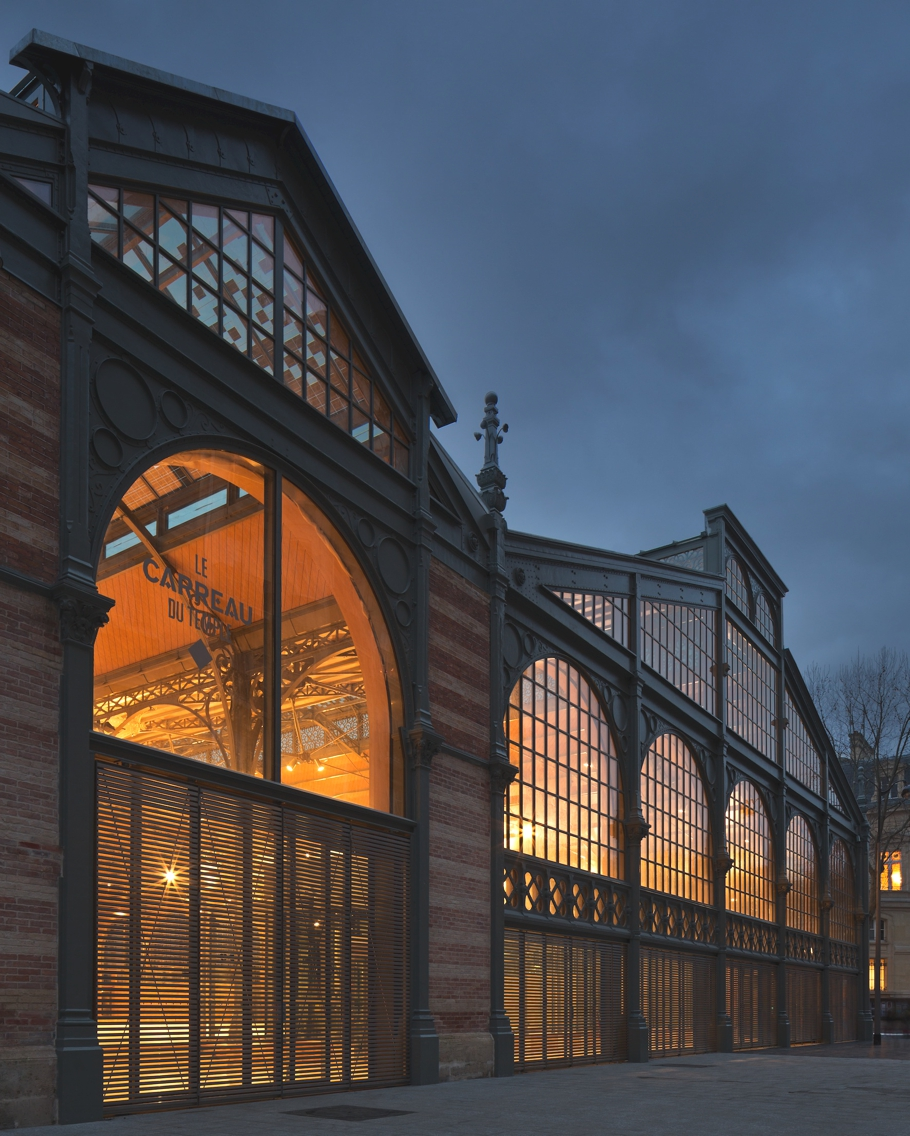 Rebirth of carreau du temple a great example of 19th for Architecture xix