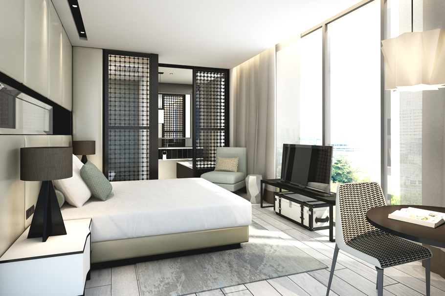 Singapore hotel unveils chanel and warhol inspired rooms for Inspire interior design singapore