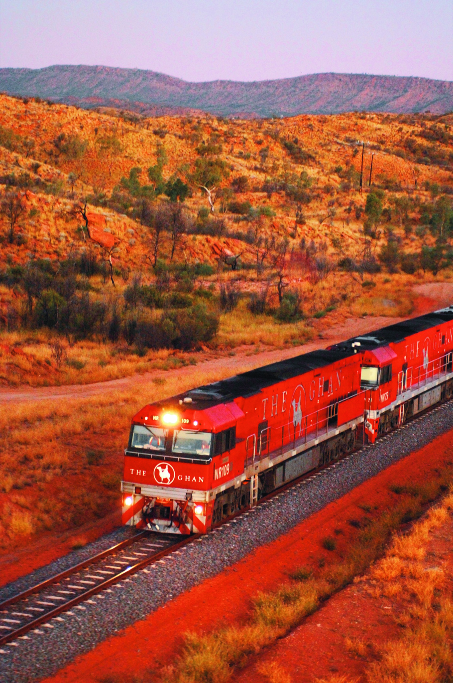The Ghan Alice Springs to Darwin