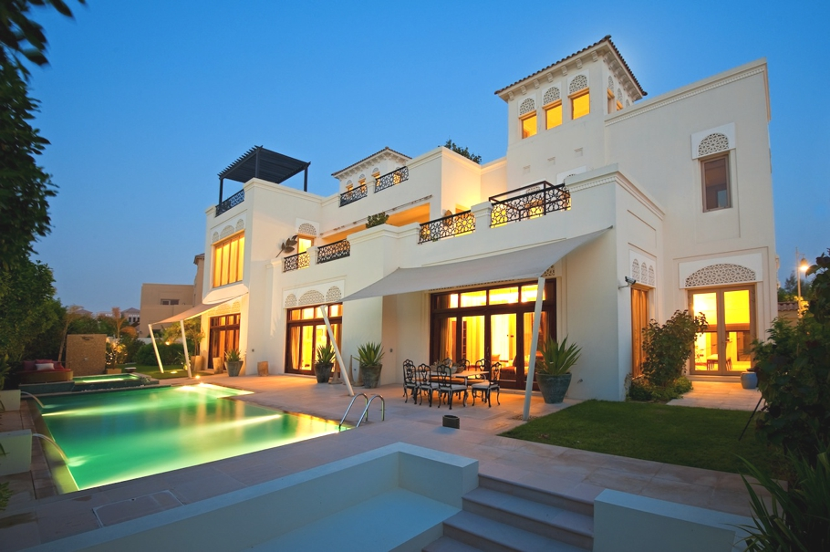 Dubai Luxury Villas Images
