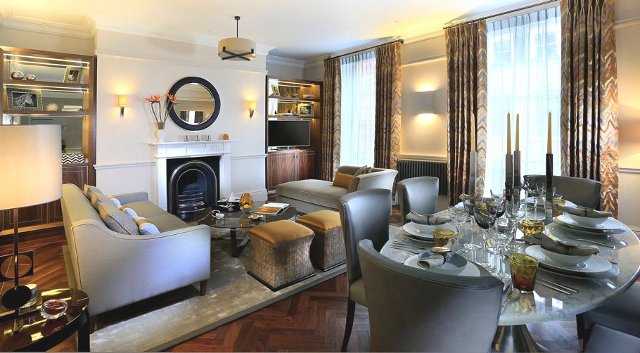 Magnificent london apartment by linley interior design for Interior designers central london