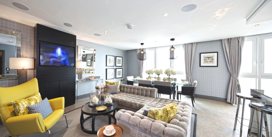 Luxury Altitude Penthouses In London By Suna Interior