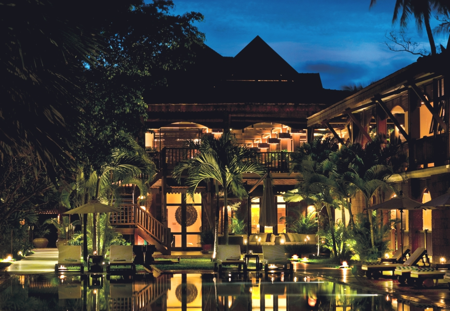Cambodian fitness retreat that will put you though your for Luxury hotel company
