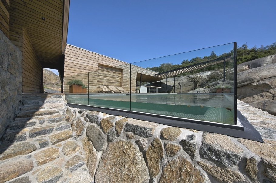 contemporary summer house off the coast of vestfold norway