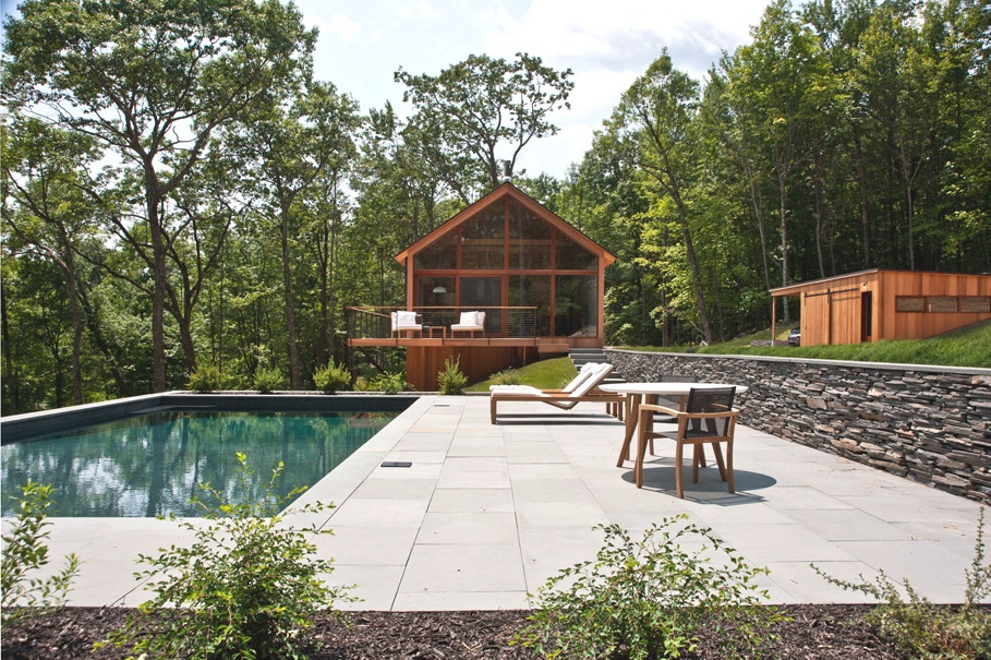 Hudson Woods A Sustainable New York Family Home Adelto