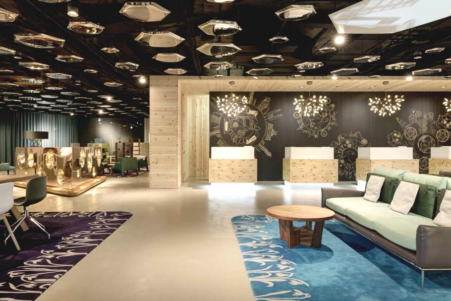 Stylish new lobby of swiss tel zurich unveiled adelto adelto for Design hotel zurich