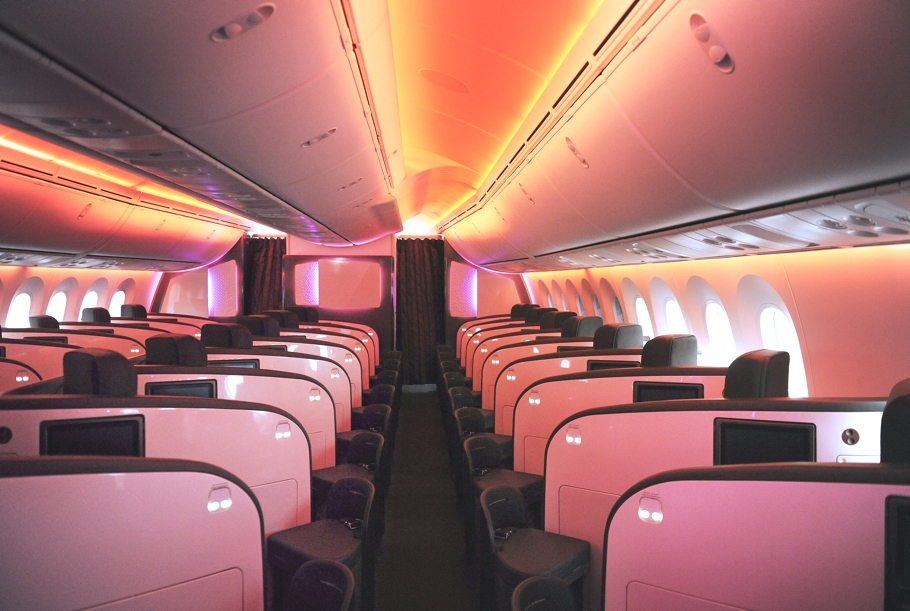 Virgin Atlantic Airways Upper Class Interior Redesigned 171 Adelto Adelto