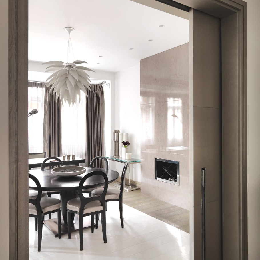 Luxury london apartment by kelly hoppen mbe adelto adelto for London interior designers directory