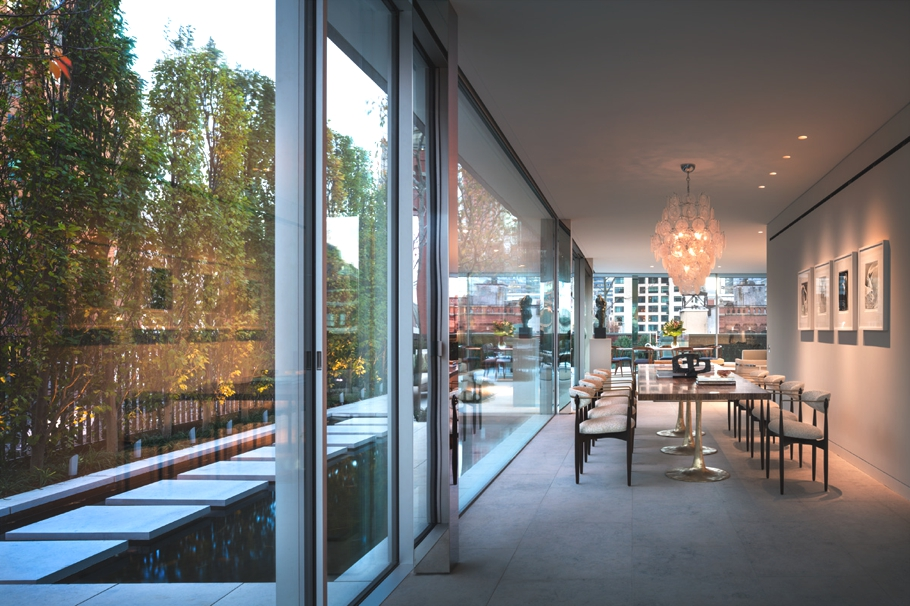 Luxury new york glass penthouse in tribeca adelto adelto for Luxury penthouses in nyc