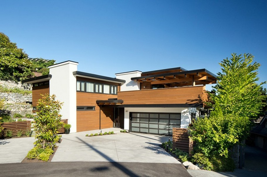 contemporary home in Vancouver, Canada 4