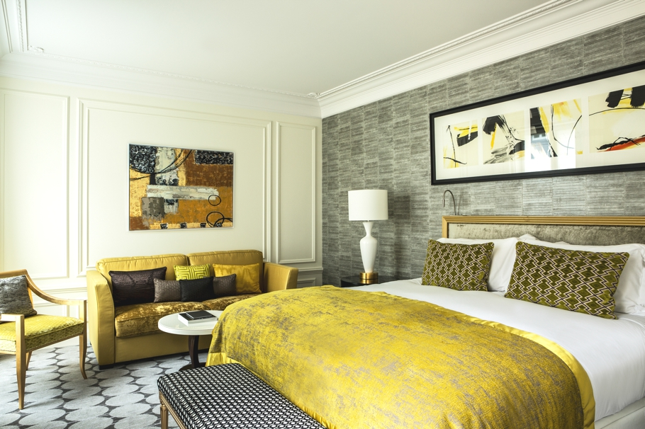 sofitel paris le faubourg re launches with new design. Black Bedroom Furniture Sets. Home Design Ideas