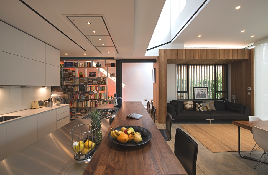 House Of Books: A Modern Home In Hampstead, London